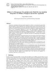 Offshore Co-Management: Ein antizipierendes Modell ... - Hintergrund