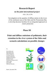 Research Report on the joint international project