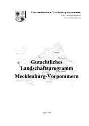 Gutachtliches Landschaftsprogramm Mecklenburg-Vorpommern