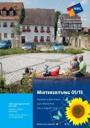 Ausgabe Juni 2013 - WBG Zeitz