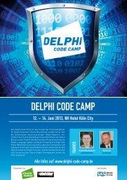 DELPHI CODE CAMP - Amiando