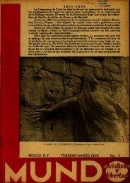 MÉXICO, D. F. FEBRERO-MARZO 1944^ NO. 7 - DDD – UAB