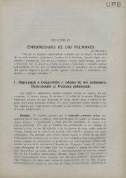 ENFERMEDADES DE LOS PULMONES 1. Hiperemia o Congestión ...