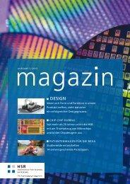 PDF-Download Magazin - Hochschule für Technik Rapperswil
