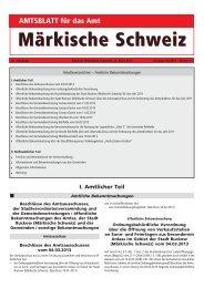 April 2013 - Amt Märkische Schweiz