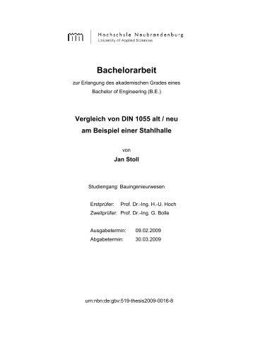 Bachelorarbeit