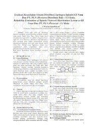 Evaluasi Keandalan Sistem Distribusi Jaringan Spindel ... - Digilib ITS