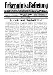 Erkenntnis und Befreiung 03. Jg.