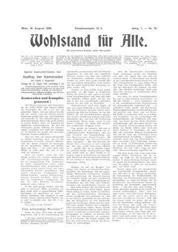 Ausflug der Kameraden Kameraden und Kampfes- genossen ! - DIR