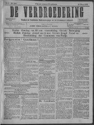 der Socialistische Werkersvereenigingen w Heden Zondag om 10 ...