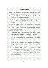 Daftar pustaka - Digilib ITS