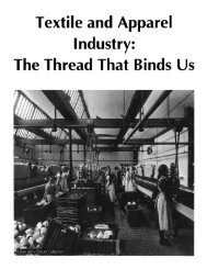 Textile and Apparel Industry: The Thread That Binds Us *