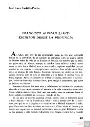 05 vol75 Francisco Aleman Sainz. Escritor desde la ... - Digitum