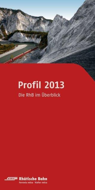 Unternehmensprofil 2013 - RhB