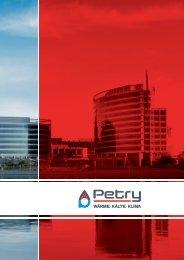 Unternehmensbroschüre als PDF herunterladen - Petry AG