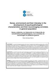 Genes, environment and their interplay in the development of ...
