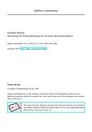 Berechnung der Potentialströmung für ein ebenes Spalt-Schaufelgitter