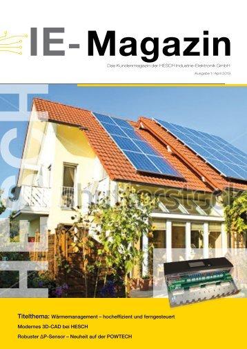 Kundenmagazin 01/1 - Hesch Schröder GmbH