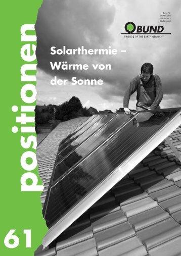 """""""Solarthermie – Wärme von der Sonne"""" herunterladen - BUND"""