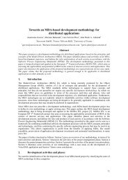 Towards an MDA-based development methodology for distributed ...