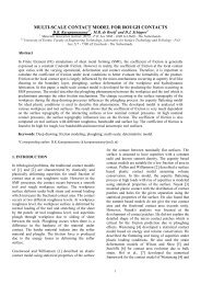 modelling mixed lubrication for deep drawing processes