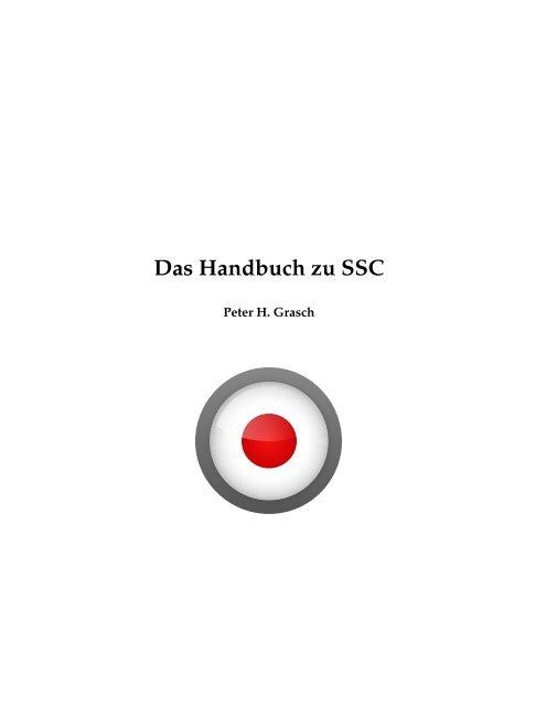 Das Handbuch zu SSC - KDE Documentation