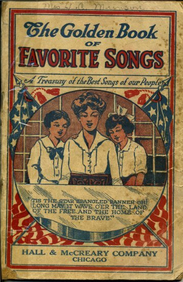 The Golden Book of Favorite Songs - Gwu
