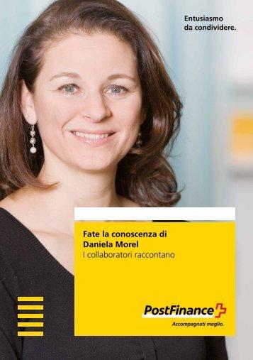 Fate la conoscenza di Daniela Morel – I collaboratori raccontano