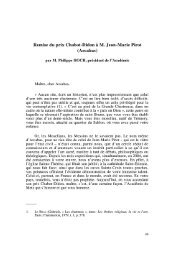 Remise du prix Chabot-Didon à M. Jean-Marie Pirot (Arcabas)