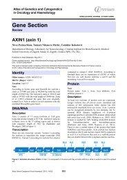 AXIN1 (axin 1) - Inist