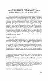 DU PUITS A BALANCIER AUX POMPES. L'ÉLÉVATION DE L'EAU ...