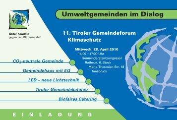 Umweltgemeinden im Dialog