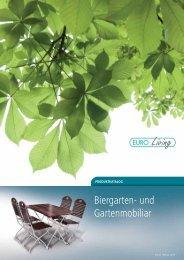 Biergarten- und Gartenmobiliar - Euro Windkat GmbH