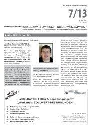 NEUE SEMINARE! - Kitzler Verlag