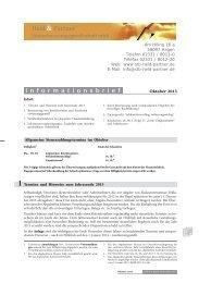 1 Termine und Hinweise zum Jahresende 2013 - Steuerberater ...