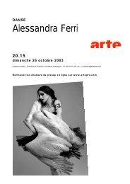 Alessandra Ferri - Arte