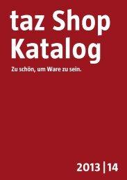 tazshop Katalog