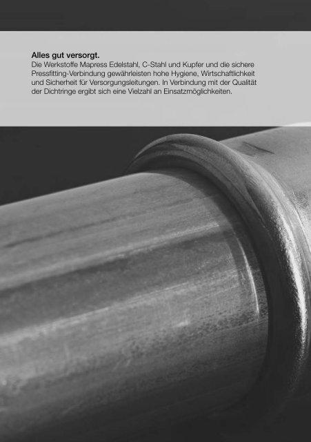 15,18,22,28,35 mm, Geberit Mapress Edelstahl T-Stück mit Innengewinde IG