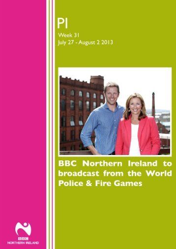 BBC Northern Ireland to broadcast from the World Police & Fire Games