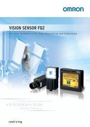 Vision sensor FQ2 - Omron Europe
