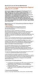 134. Vollversammlung der Bayerischen Regional- KODA am 19. Juli ...