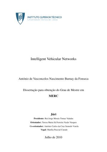 Intelligent Vehicular Networks