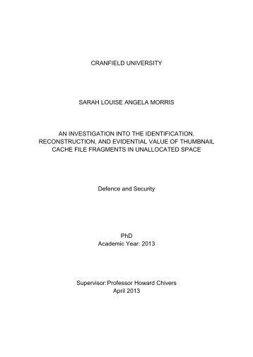 SLAMorris Final Thesis After Corrections.pdf - Cranfield University