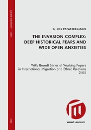 the invasion complex: deep historical fears and wide open anxieties