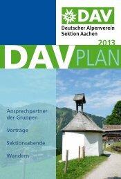 Jahresplan 2013 - Aachen
