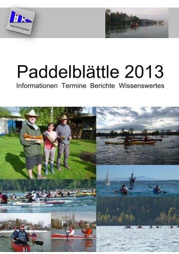 Paddelblättle 2013-web - Kanu Club Konstanz eV