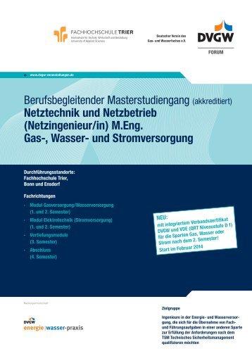 Informationen und Anmeldung (PDF, 332 KB) - DVGW - Deutscher ...