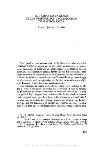 05. RAFAEL JIMÉNEZ CATAÑO, El transfondo moderno de los ...
