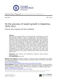 On the accuracy of export growth in Argentina 1870-1913 - e-Archivo