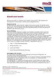 Patientinformation, Gravid over termin.pdf - e-Dok